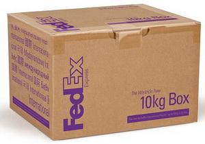 FedEx 10 kg Box Коробка до 10 кг.