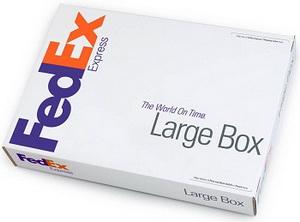 FedEx Large Box - большой бокс для большого количества бумаг, деталей машин.